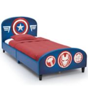 Delta Children Marvel Avengers Upholstered Twin Bed