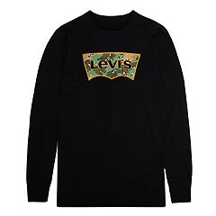 Boys 8-20 Levi's Camouflage Batwing Logo Tee