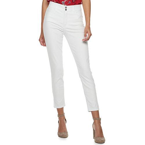 Juniors' Candie's® Vented Hem Skinny Jeans