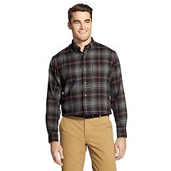 Men's IZOD Slim-Fit Plaid Flannel Button-Down Shirt