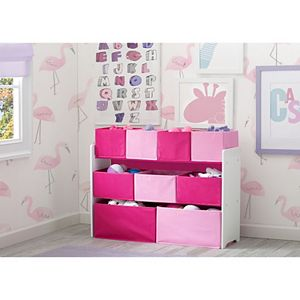 Delta Children Deluxe Multi-Bin Toy Organizer Bins