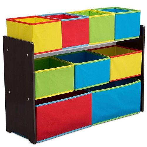 Delta Children Deluxe Multi Bin Toy Organizer Bins