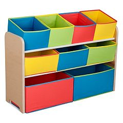 Delta Children Deluxe Multi-Bin Toy Organizer Bins