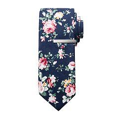 Men's Apt. 9® Floral Skinny Tie