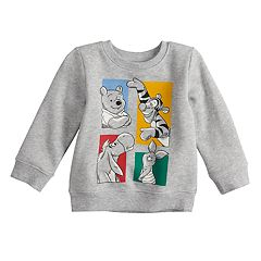 Disney's Winnie the Pooh Baby Boy Grid Sweatshirt by Jumping Beans®