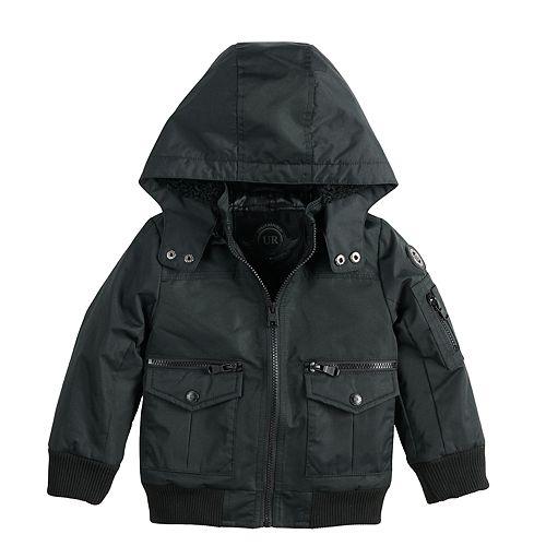Toddler Boy Urban Republic Ballistic Hooded Bomber Midweight Jacket