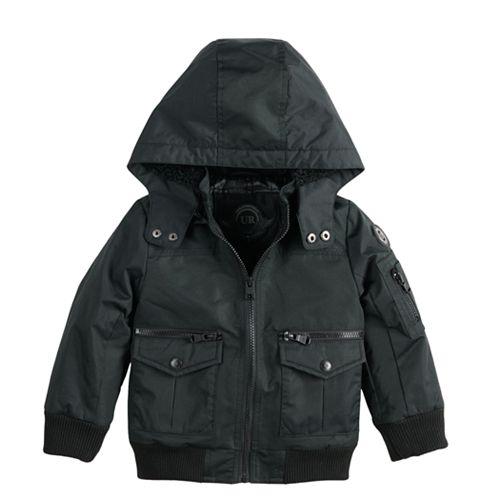 Baby Boy Urban Republic Ballistic Hooded Bomber Midweight Jacket