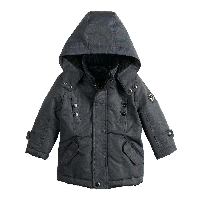 Toddler Boy Urban Republic Ballistic Hooded Sherpa Midweight Jacket 4T Boys Kids Coats \u0026 Jackets - Outerwear, Clothing
