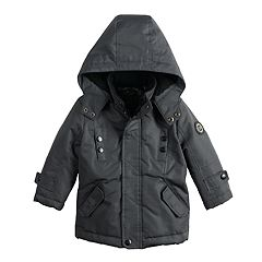 Toddler Boy Urban Republic Ballistic Hooded Sherpa Midweight Jacket