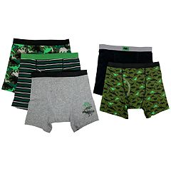 Boys 4-10 Up-Late Dinosaur 5-Pack Boxer Briefs