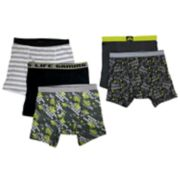 Boys 4-10 Up-Late 5-Pack Gaming Boxer Briefs