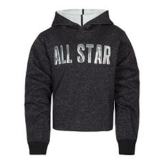 Girls 7-16 Converse All Star Cropped Hoodie