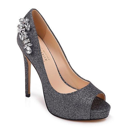 2a04bb19c9a American Glamour by Badgley Mischka Elizabeth Women s Platform High Heels