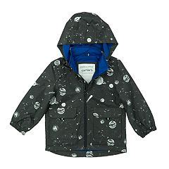 Boys 4-7 Carter's Printed Hooded Zip Lightweight Jacket