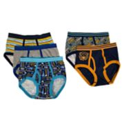 Boys 4-10 Up-Late Sports 5-Pack Briefs