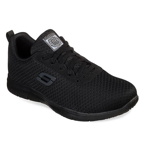 Skechers Work Relaxed Fit Ghenter Bronaugh SR Women's Water Resistant Shoes