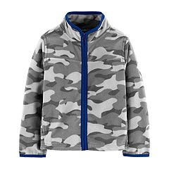 Toddler Boy OshKosh B'gosh® Zip Fleece Lightweight Jacket