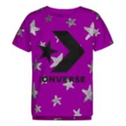 Girls 7-16 Converse Graffiti Star Print Short Sleeve Tee