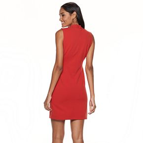 Women's Sharagano Mockneck Sheath Dress