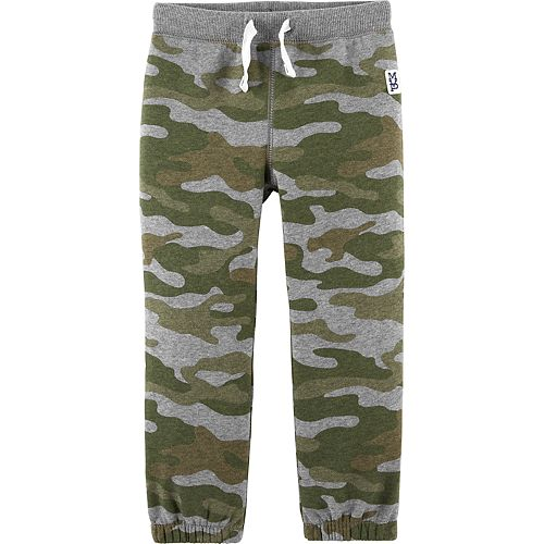 Toddler Boy Carter's Basic Fleece Pants