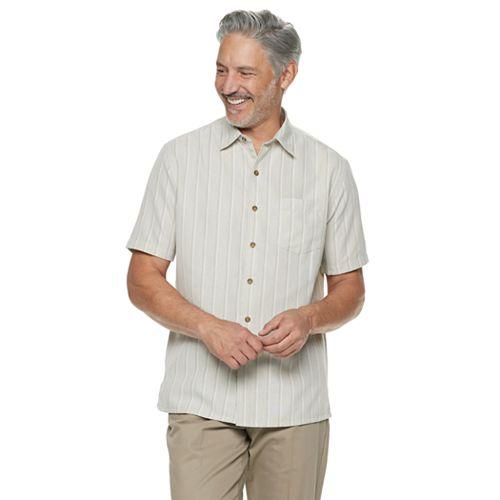 Men's Croft & Barrow® Classic-Fit Microfiber Button-Down Shirt