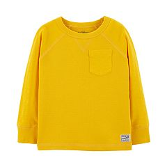 Toddler Boy OshKosh B'gosh® Thermal Pocket Raglan Top