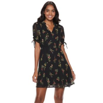 Women's Sharagano Floral Shirt Dress