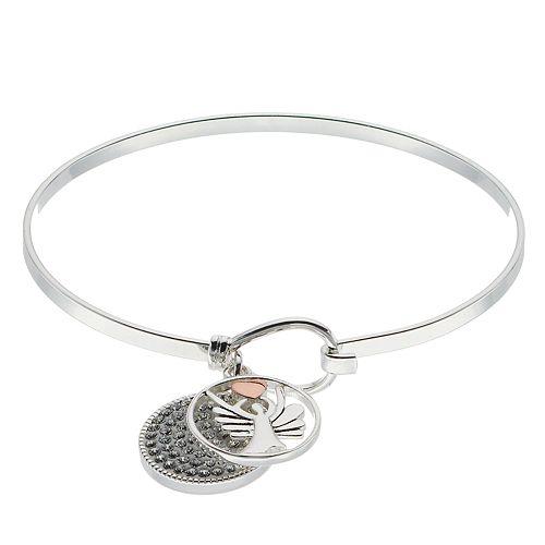Brilliance Guardian Angel Bracelet with Swarovski Crystals