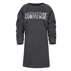 Girls 7-16 Converse French Terry Sweater Dress