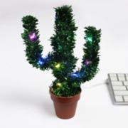 DCI LED USB Tinsel Cactus