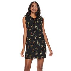 Women's Sharagano Floral Ruffle Shift Dress