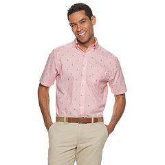 Men's Croft & Barrow® Classic-Fit Easy-Care Tropical Button-Down Shirt