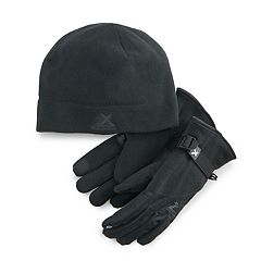 Boys 4-20 ZeroXposur Fleece Hat & Gloves Set