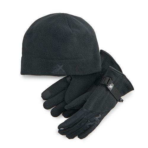 Boys 4-20 ZeroXposur Fleece Hat & Gloves Set