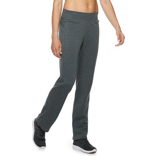 Petite Tek Gear® Fleece Mid-Rise Sweatpants
