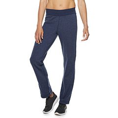 Petite Tek Gear® Fleece Mid-Rise Sweatpants
