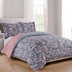 CosmoLiving by Cosmopolitan Floral Print 3-piece Comforter Set