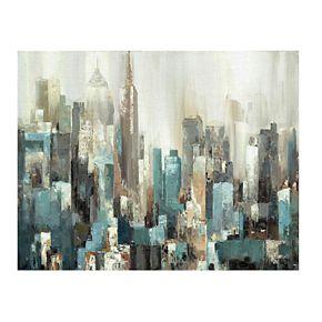 Domain Abstract Cityscape Canvas Wall Art