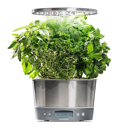 AeroGardenHarvest Elite 360with Gourmet Herb Seed Pod Kit
