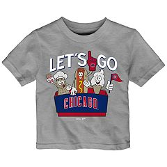Baby Boy Chicago Cubs Snack Box Graphic Tee
