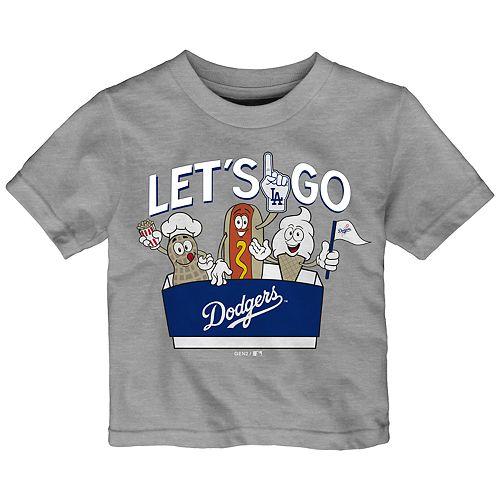 Baby Boy Los Angeles Dodgers Snack Box Graphic Tee
