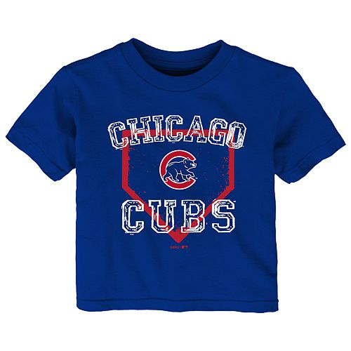 Toddler Boy Chicago Cubs Home Plate Tee