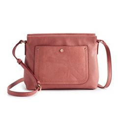LC Lauren Conrad Simple Crossbody Bag