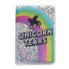 Unicorn Tears Glitter Journal