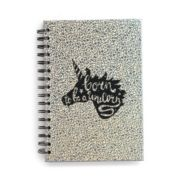 Born To be a Unicorn Holographic Spiral Notebook