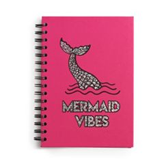 Mermaid Vibes Spiral Notebook