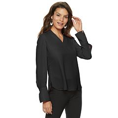 Women's Apt. 9® V-Neck Split Cuff Blouse