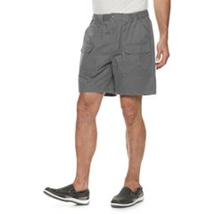 fb31e78925 Men's Croft & Barrow® Classic-Fit Side-Elastic 7.5-inch Cargo Shorts