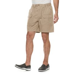 new concept 36d62 ae19f Men s Croft   Barrow® Classic-Fit Side-Elastic 7.5-inch Cargo Shorts