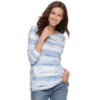 Petite SONOMA Goods for Life? Supersoft Scoopneck Top